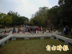 台中神社鳥居 林佳龍︰原址重建年底前完成
