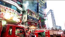 補習班大樓冒火 上百學生尖叫衝出