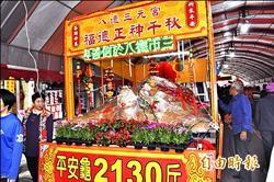 土地公慶生 2130台斤米龜祈福