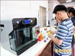 廠商捐3D印表機 助拚發明展