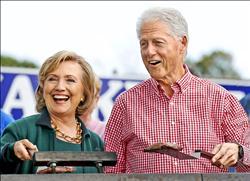 希拉蕊若當選 柯林頓︰叫我「亞當」