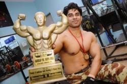 癱瘓不放棄   印度男苦練成健美冠軍