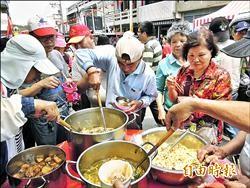 四庄媽回鑾吃飯擔 美味配人情味