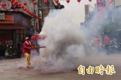 斗六媽祖文化節 各式陣頭上街 炸神轎最火熱