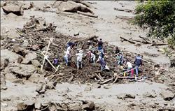 哥倫比亞土石流 62人睡夢中喪生