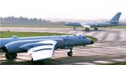 中國轟6機 飛越宮古島海域