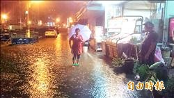 市區大淹水 怪罪景觀工程