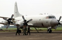菲日軍演 日P-3C飛過南海爭議海域上空