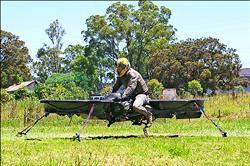 英美聯手研發 軍用懸浮單車
