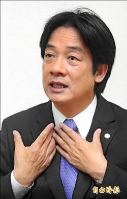 星期專訪》賴清德呼籲王金平︰帶領台灣優先路線 貢獻大於當總統