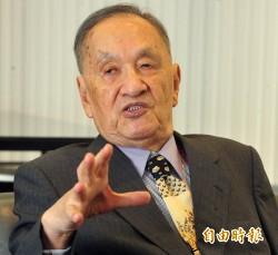 彭明敏:獨派應整合成一個新政黨