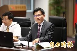 市長大和解? 林佳龍讚胡志強政績