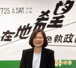 台灣指標民調》蔡35.9% 宋21.6% 洪18.9%