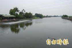 新營急封急水溪5座過水便橋 柳營德元埤放水調節水位