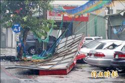 颱風逞凶 高市1死37傷 樹倒8千棵