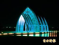 水晶教堂七夕點燈 每週五六開燈