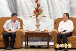 只見到上海市長 柯稱對等