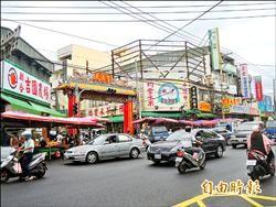 竹北傳統市場違停 近期標線拖吊