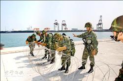 漢光演習 模擬自炸台中港阻敵