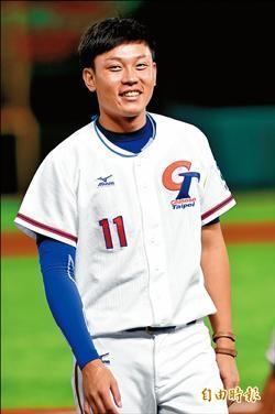 黃亦志今先發 板球論好窩心