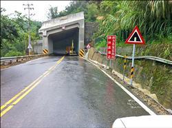 關子嶺明隧道 通過強颱考驗