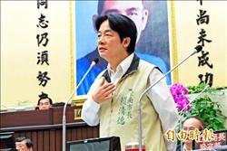 賴清德在議會宣示 「我主張台灣獨立」