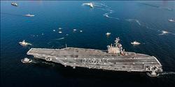 美國核動力航母雷根號 抵日橫須賀海軍基地