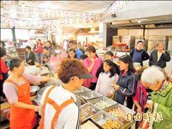 轉型美食廣場 蘆洲市場人潮回流