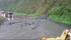 蘇花公路土石流 一度封路後搶通