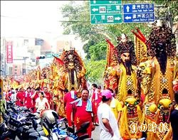 36尊神將遶境 蘆洲文化祭熱鬧一整天