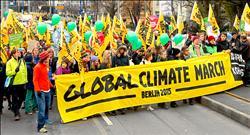 巴黎氣候峰會前夕 各國接力遊行 高喊救地球