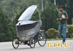 輕量無人智慧車PEV  全球首輛在台亮相
