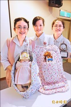 中榮研發輔具 提升早產兒療效