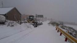 台14甲鏟雪車出動了!
