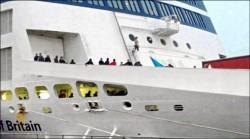 難民闖渡輪 法港口一度關閉