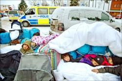難民寒冬 瑞典將驅逐8萬人
