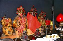 《台南武當山廟》猴王坐鎮 降獼猴