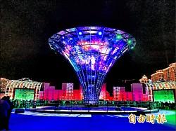 《2016台灣燈會系列報導1》宇宙塔觔斗雲 互動科技同樂