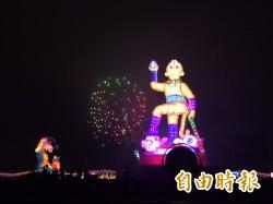 主持台灣燈會點燈 馬總統盼台灣轉危為安