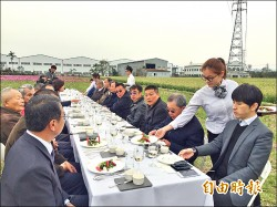 小麥文化節 田野用餐超浪漫