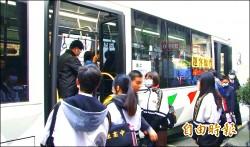 579幹線公車上路 日首尖峰擁擠改善