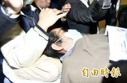 黃安心肌梗塞返台就醫 網友PO圖諷:「賤人就是矯情」