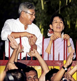 《翁山蘇姬摯友》 作家廷覺 料成緬甸新總統