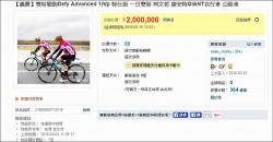 柯P義賣戰車戰衣 結標總價450萬
