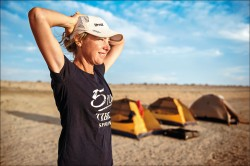 她7週跑遍7大洲 促全球重視缺水問題