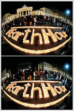 「地球一小時」 全球熄燈響應