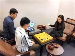 對弈台版AlphaGo 黑嘉嘉勝出