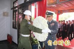 紀念國軍陣亡將士  陸軍第8軍團今在高雄春祭