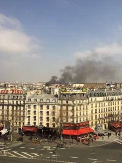 巴黎市中心瓦斯氣爆 民宅毀損已傳出5傷