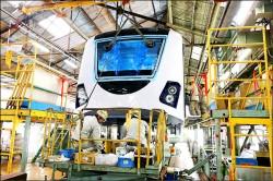 台中捷運綠線車體 年底跟民眾見面